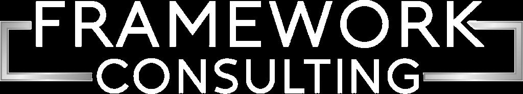 Framework Consulting White Logo